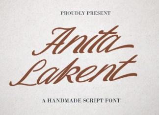 Anita Lakent Font