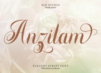 Anzilam Font
