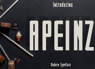 Apeinz Font