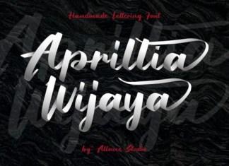 Aprillia Wijaya Font