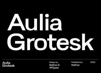 Aulia Grotesk Font