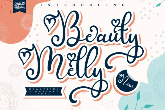 Beauty Melly Font