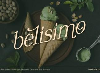 Belisimo Font
