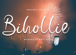Bihollie Font