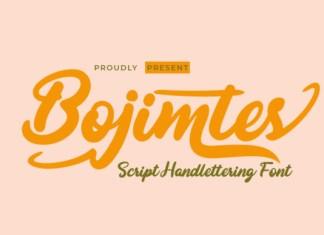 Bojimtes Font