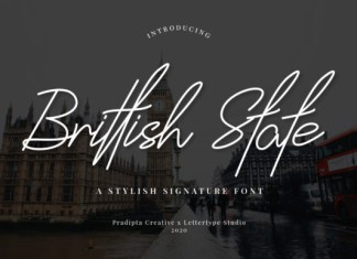 Brittish State Font