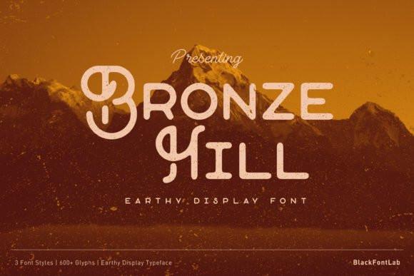 Bronze Hill Font