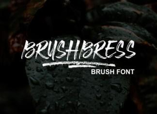 Brushbress Font