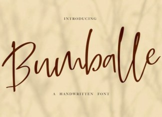 Bumballe Font