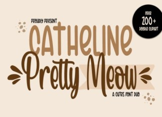 Catheline Pretty Meow Font