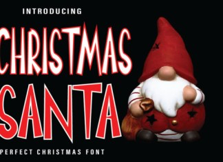 Chrismas Santa Font