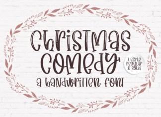 Christmas Comedy Font