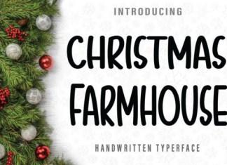 Christmas Farmhouse Font
