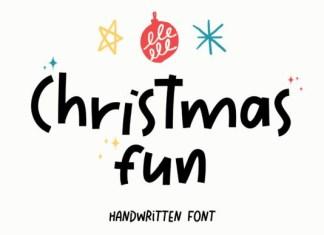 Christmas Fun Font