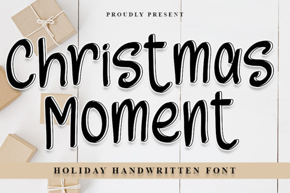 Christmas Moments Font