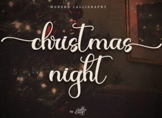 Christmas Night Font