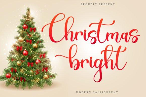 Christsmas Bright Font