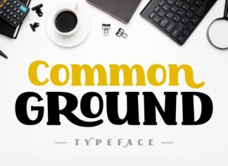 Common Ground Font