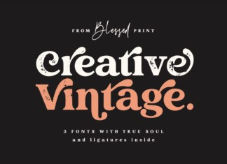 Creative Vintage Font