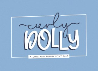 Curly Dolly Font