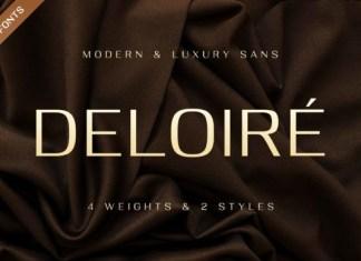 Deloiré Font