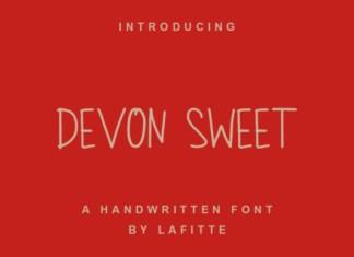Devon Sweet Font