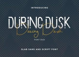 During Dusk Font