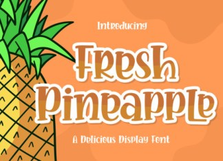 Fresh Pineapple Font