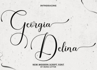 Georgia Delina Font