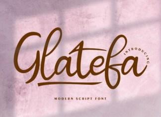 Glatefa Font