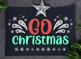 Go Christmas Font