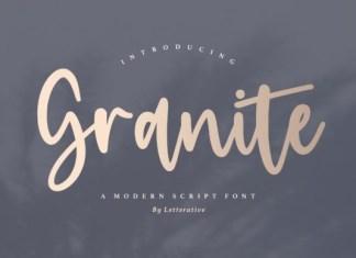 Granite Font