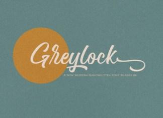 Greylock Font