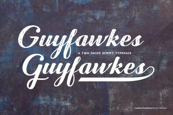 Guyfawkes Font