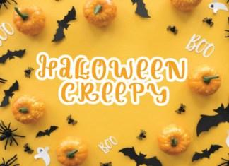 Halloween Creepy Font