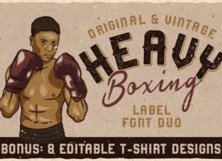 Heavy Boxing Font