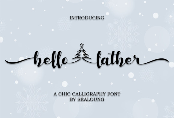 Hello Father Font