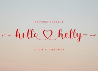 Hello Helly Font