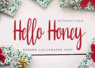 Hello Honey Font