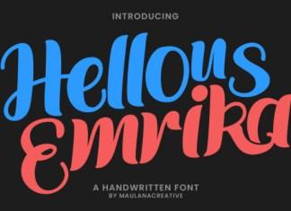 Hellous Emrika Font