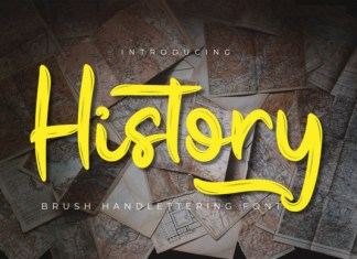 History Font