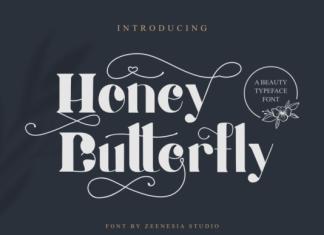 Honey Batterfly Font