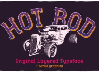 Hot Rod Font