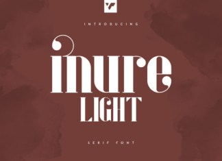 Inure Bold Font
