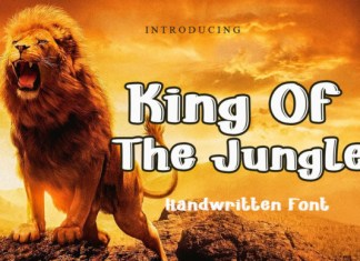 King of the Jungle Font