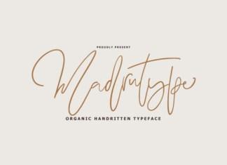 Madrutype Font
