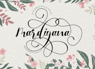 Mardiyana Font