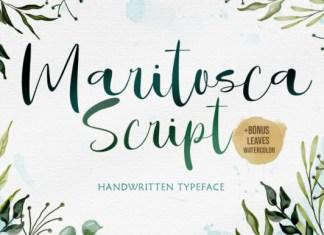 Maritosca Script Font
