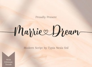 Marrie Dream Font
