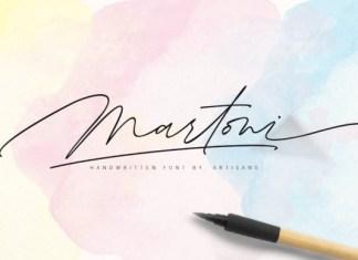 Martoni Font